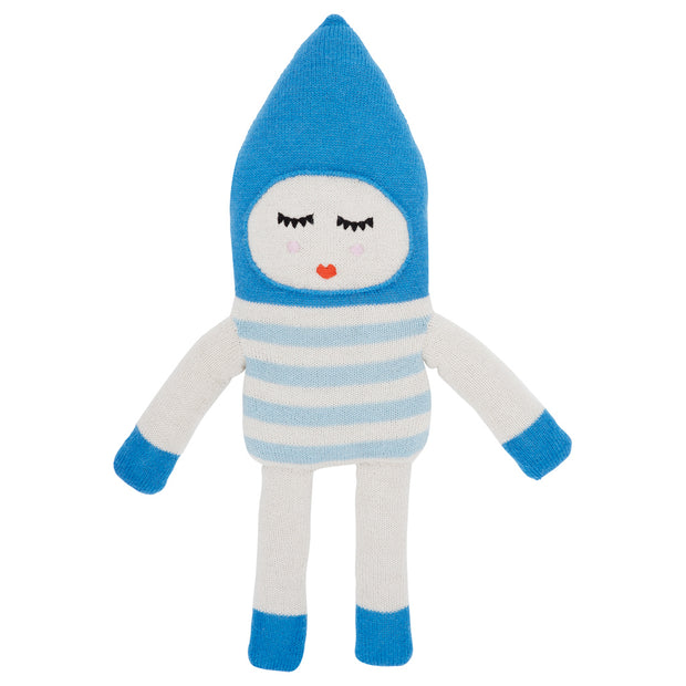 LUCKY BOY SUNDAY SOFT DOLL TOY - BONBON BLUE
