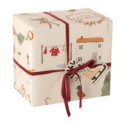 Maileg Cosy Christmas Gift Wrap Off White - 10 Meters