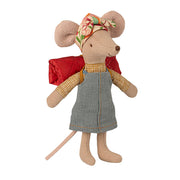 Maileg Hiker Mouse - Big Sister ( Coming Soon)
