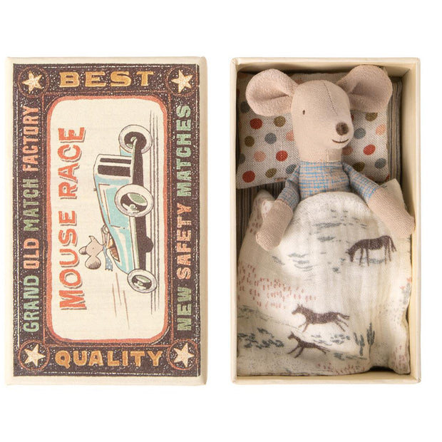 Maileg Mouse in a Matchbox - Little Brother