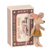 Maileg Mouse in a Matchbox - Little Sister