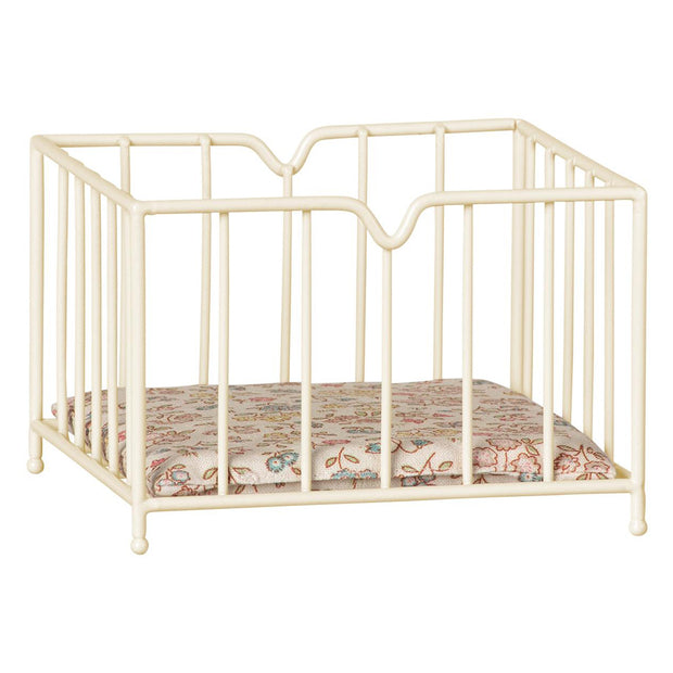 MAILEG MICRO PLAYPEN - OFF WHITE