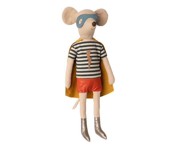 Maileg Maxi Superhero Mouse - Boy