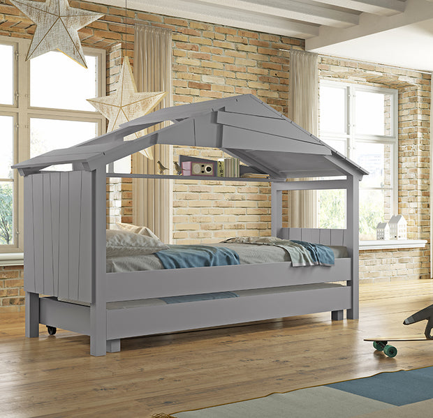 MATHY BY BOLS STAR TREEHOUSE SINGLE BED - COLOUR LACQUER (20+ COLOURS)