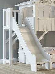 Mathy By Bols Treehouse Bunk Bed with Slide - Colour Lacquer (20+ Colours)