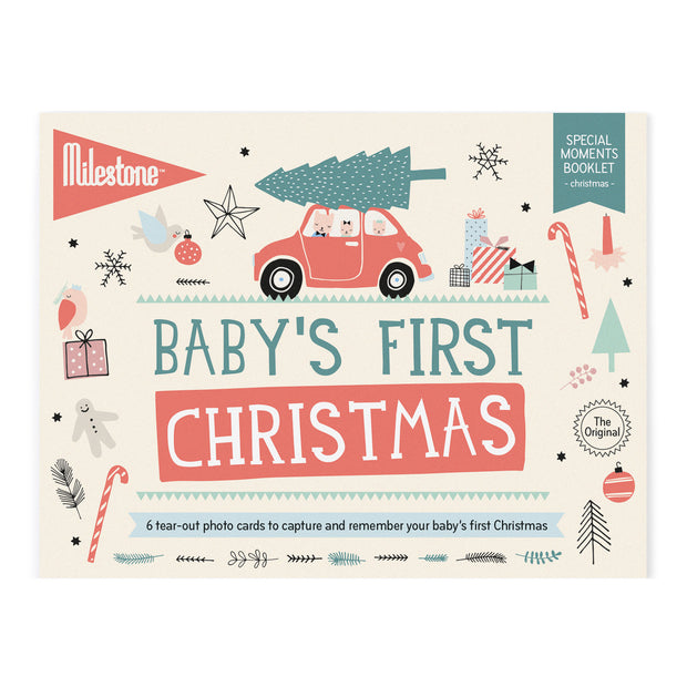 MILESTONE CARDS - BABY'S FIRST CHRISTMAS
