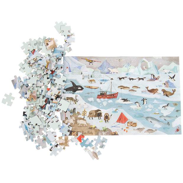 Moulin Roty The Arctic Le Jardin Jigsaw