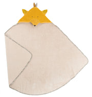 Moulin Roty Le Voyage D'Olga Hooded Fox Baby Towel