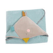 Moulin Roty Le Voyage D'Olga Hooded Goose Baby Towel