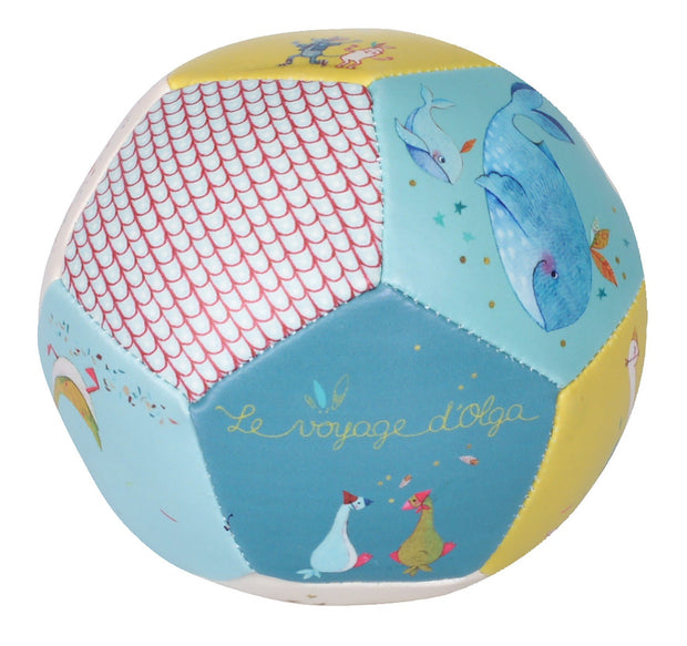 Moulin Roty Le Voyage d'Olga Soft Baby Ball