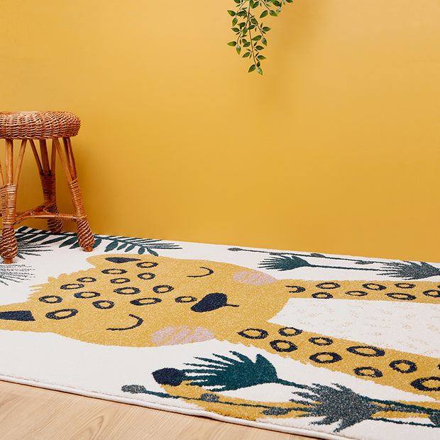 SOREN LEOPARD JUNGLE RUG