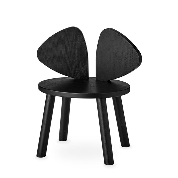 NOFRED KIDS MOUSE CHAIR - BLACK (2-5 YEARS)