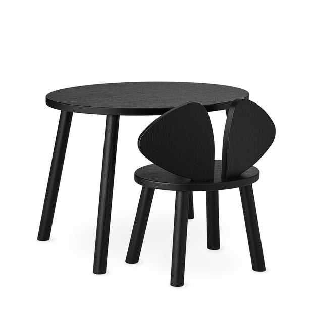 NOFRED KIDS MOUSE TABLE - BLACK (2-5 YEARS)