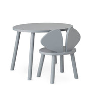 NOFRED KIDS MOUSE CHAIR - GREY (2-5 YEARS)