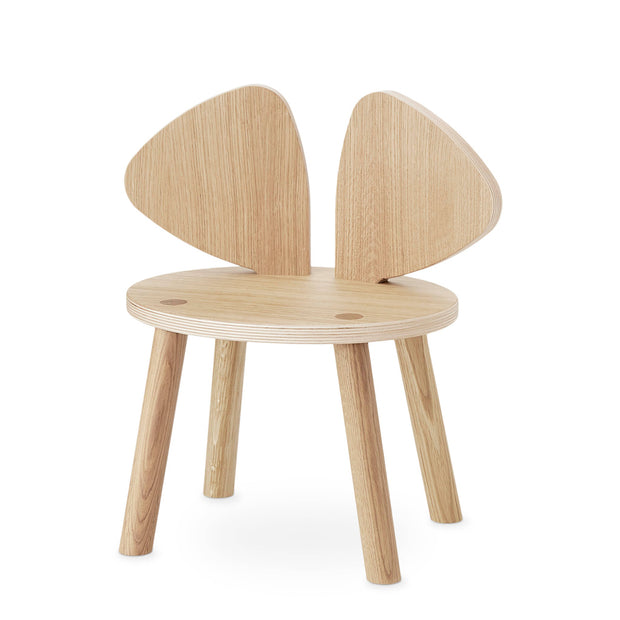 NOFRED KIDS MOUSE CHAIR - OAK (2-5 YEARS)