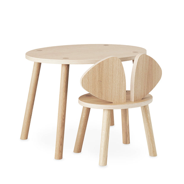 Nofred Kids Mouse Table - Oak  (2-5 Years)