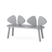 NOFRED KIDS MOUSE BENCH - GREY (2-5 YEARS)