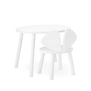 NOFRED KIDS MOUSE TABLE - WHITE (2-5 YEARS)