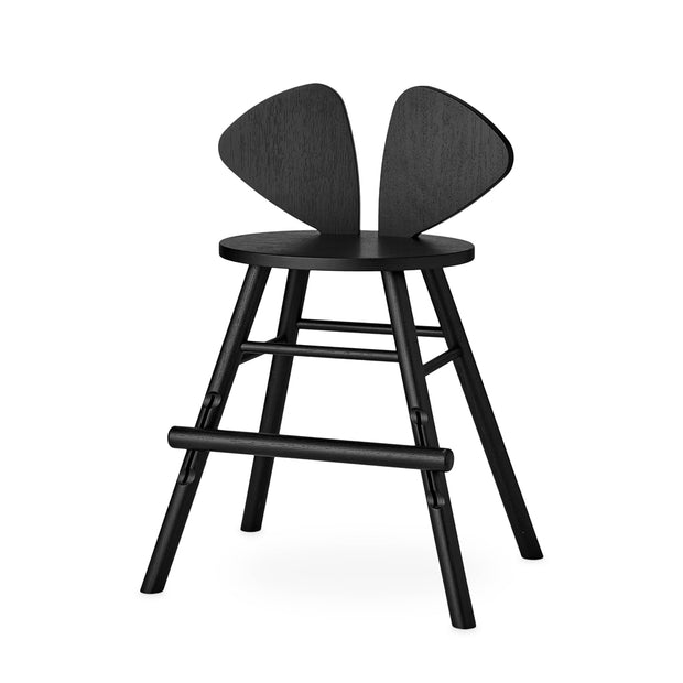 NOFRED MOUSE CHAIR JUNIOR - BLACK (3 - 9 YEARS)