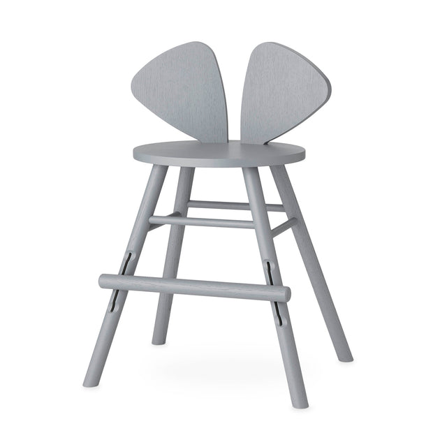 NOFRED MOUSE CHAIR JUNIOR  - GREY (3 -9 YEARS)
