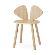NOFRED MOUSE SCHOOL CHAIR - OAK ( 6- 10 Years)