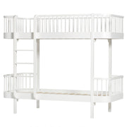 OLIVER FURNITURE WOOD BUNK BED - WHITE