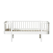 OLIVER FURNITURE WOOD JUNIOR DAY BED - WHITE (90 X 160 | 200 CM)