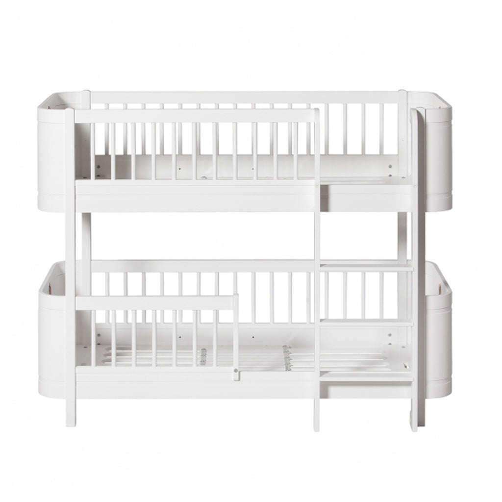 sale retailer 081a0 df722 OLIVER FURNITURE WOOD MINI+ LOW BUNK BED - WHITE