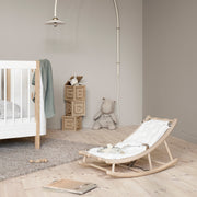 Oliver Furniture Wood Baby & Toddler Rocker - Oak | White  (Coming Soon)