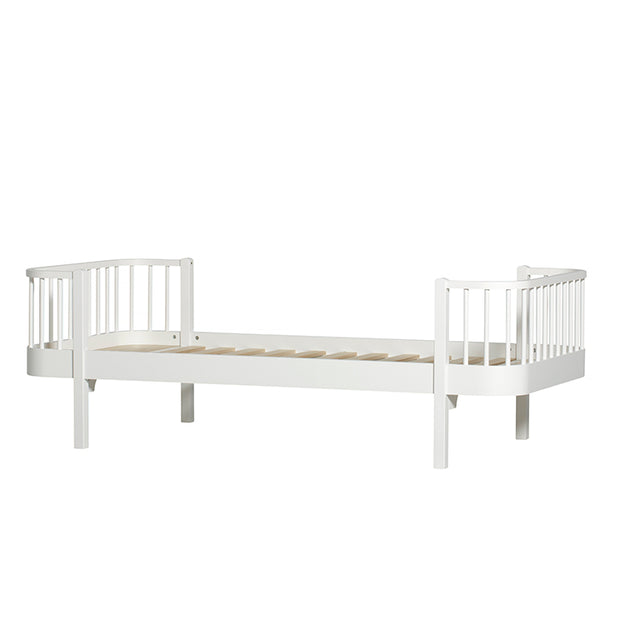 OLIVER FURNITURE WOOD KIDS SINGLE BED - WHITE