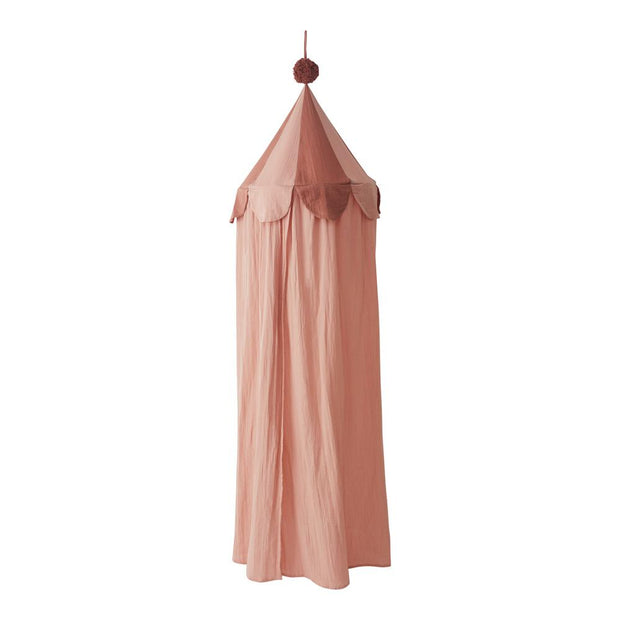 OYOY Ronja Organic Cotton Canopy - Rose