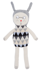 LUCKY BOY SUNDAY SOFT DOLL TOY - PALE NULLE