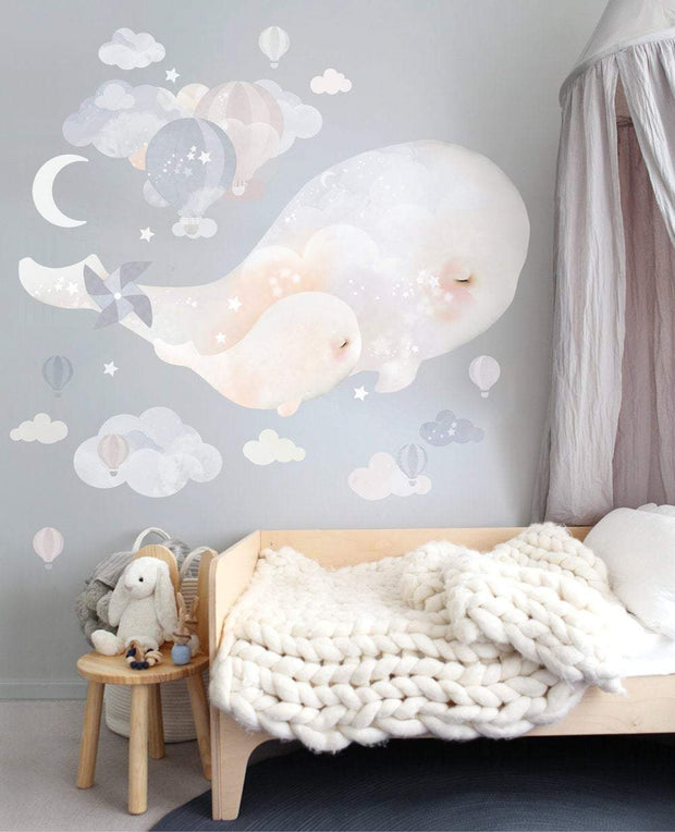 Beluga Whales Wall Stickers