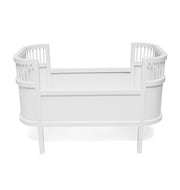 ROSALINE DOLLS BED - WHITE