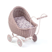 Copy of DOLLS PRAM STROLLER - POWDER PINK