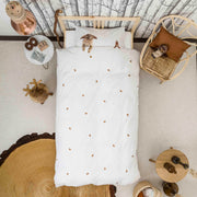 Snurk Furry Friends Organic Bedding Set
