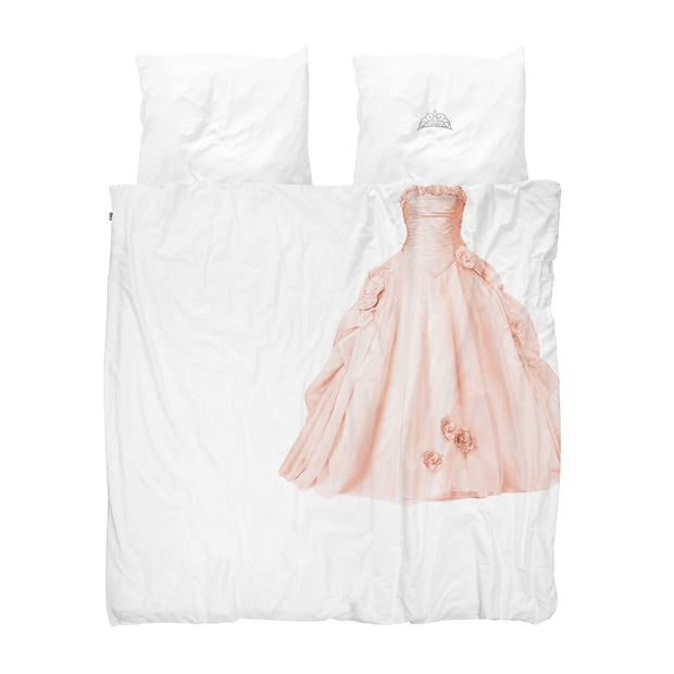 Snurk Princess Pink Organic Bedding Set