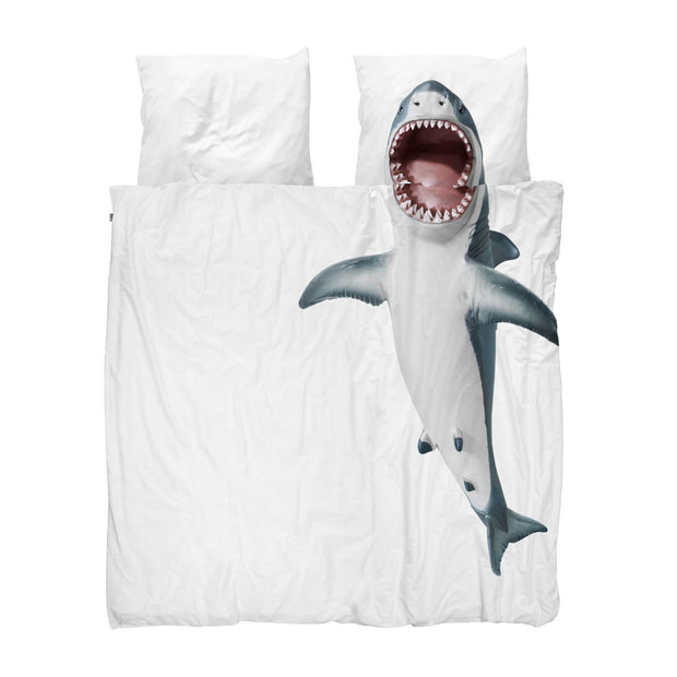 Snurk Shark Organic Bedding Set