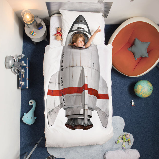 Snurk Rocket Organic Bedding Set