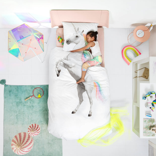 Snurk Unicorn Organic Bedding Set