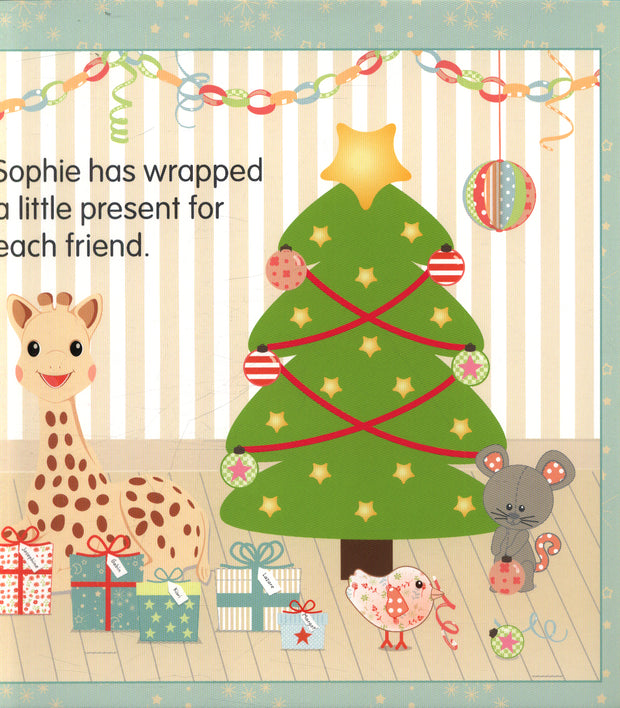 SOPHIE THE GIRAFFE BOOK - MERRY CHRISTMAS SOPHIE!