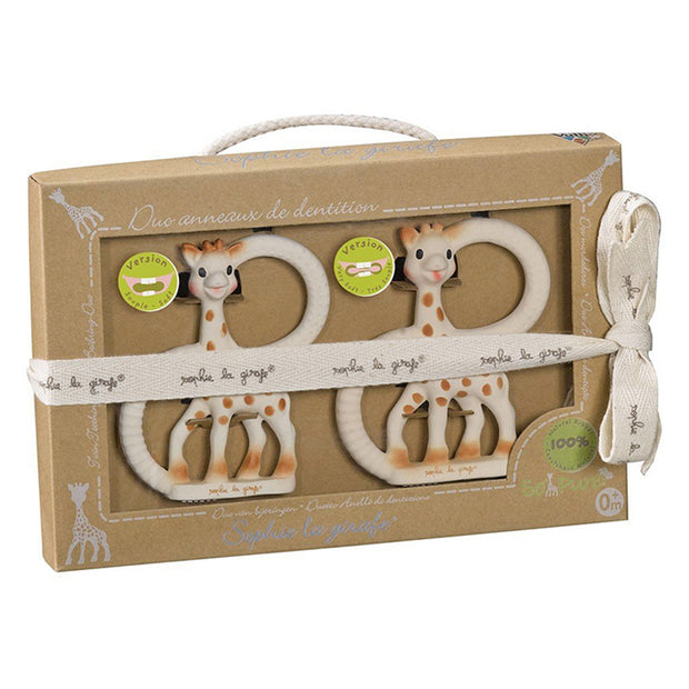 SOPHIE THE GIRAFFE DUET TEETHING SET