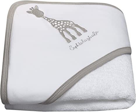 Sophie The Giraffe Hooded Bath Towel