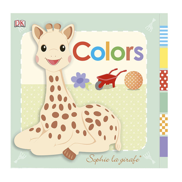 SOPHIE THE GIRAFFE MY FIRST BOOK - COLOURS
