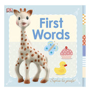 SOPHIE THE GIRAFFE MY FIRST BOOK - MY FIRST WORDS