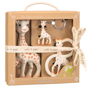 SOPHIE THE GIRAFFE TRIO TEETHING TOY SET