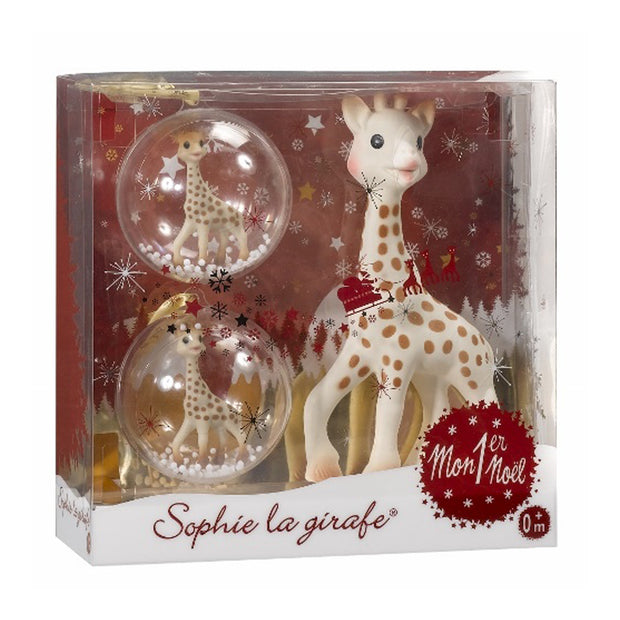 SOPHIE THE GIRAFFE MY FIRST CHRISTMAS SET