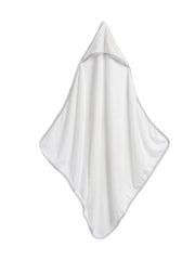 STORKSAK HOODED TOWEL AND WASH CLOTH - RAINDOT PRINT