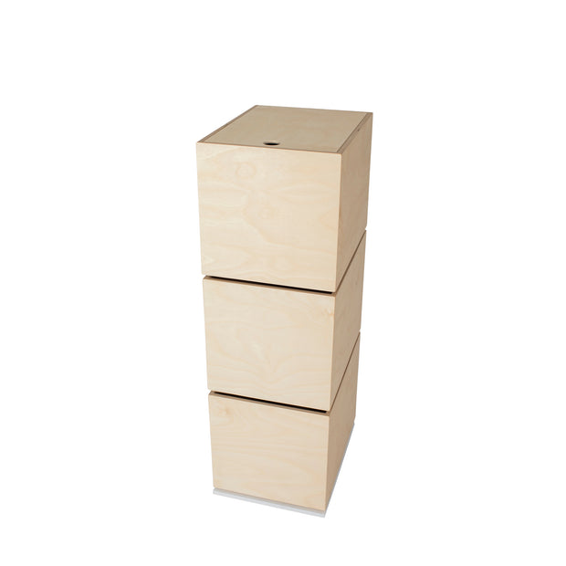 IN2WOOD STORAGE CAROUSEL - 3 BOXES