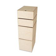 IN2WOOD STORAGE CAROUSEL - 4 BOXES